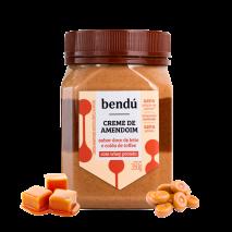 Creme de Amendoim Doce de Leite com Calda Toffee (350g) Bendu
