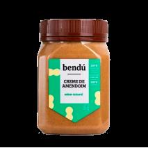 Creme de Amendoim Natural (350g) Bendu