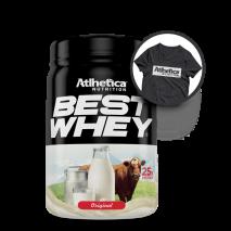 Best Whey Original (900g) Atlhetica Nutrition + Camiseta Grátis