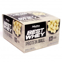 Best Whey Protein Ball (12unid-50g) Atlhetica Nutrition-Chocolate Branco
