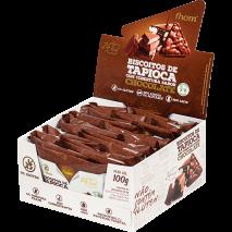 Biscoito de Tapioca com Chocolate (20Unid-5g) Fhom