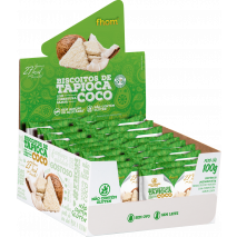 Biscoito de Tapioca com Coco (20unid-5g) Fhom
