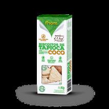Biscoito de Tapioca com Coco (2unid-15g) Fhom - 40% OFF