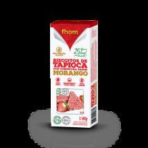 Biscoito de Tapioca com Morango (2unid-15g) Fhom - 50% OFF