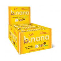 B.nana Amendoim com Chocolate Branco Display (12unid-35g) B-Eat