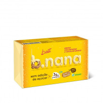 B.nana Amendoim com Chocolate Branco Pack (3unid-35g) B-Eat