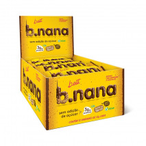 B.nana Amendoim com Chocolate Display (12unid-35g) B-Eat
