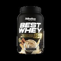 Best Whey ISO (900g) Atlhetica Nutrition-Mocaccino Canela