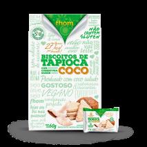 Biscoito de Tapioca com Coco (12unid-5g) Fhom