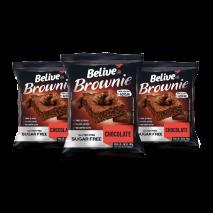 Combo Brownie Chocolate Zero (3unid-40g) Believe