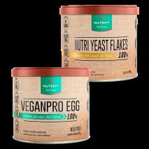 Nutri Yeast Flakes (100g) + VeganPro Egg (175g) Nutrify