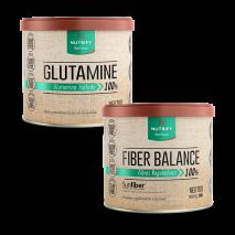 Fiber Balance (200g) Nutrify + Glutamina (150g) Nutrify