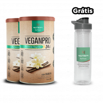 VeganPro (2x550g) Nutrify + Water Bottle com Infusor Grátis