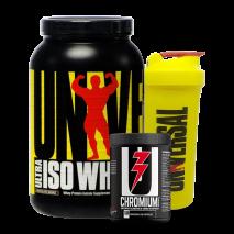 Ultra Whey Iso (907g) Universal Nutrition + Chromium Picolinate e Coqueteleira Grátis