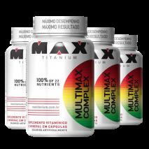 Multimax Complex (4x90caps) Max Titanium