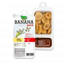Banana Pack Avelã com Cacau (46g) Eat Clean
