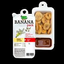 Banana Pack Avelã com Cacau (46g) Eat Clean