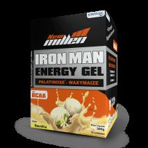 Iron Man Gel (10 Sachês-30g) New Millen-Baunilha - 50% OFF