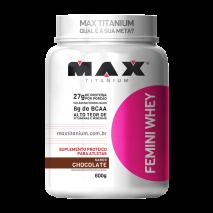 Femini Whey (600g) Max Titanium-Chocolate
