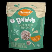 Bolinha de Doce de Leite Zero Lactose (60g) Flormel - 50% OFF