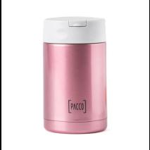 Food Jar com Colher Inox 500ml - Rose