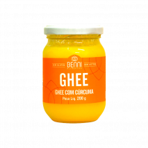 Manteiga Ghee com Cúrcuma (200g) Benni - 50% OFF
