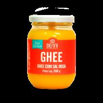 Manteiga Ghee com Sal Rosa do Himalaia (200g) Benni - 50% OFF