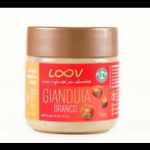 Creme de Gianduia Loov Branco (160g) Chocolife