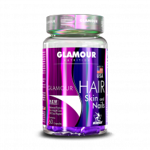 Hair Skin and Nails (60caps) Glamour Nutrition
