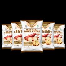 Combo Chips de Batata Doce (5unid-45g) Fhom