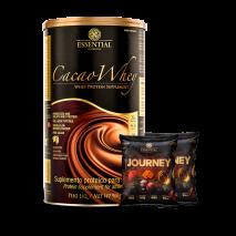 Cacao Whey (900g) Essential Nutrition + Journey Mediterranean Cracker (2x25g) Grátis