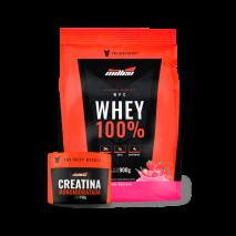 Whey 100% (900g) + Creatina Monohidratada (150g) New Millen