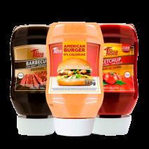 Kit Molhos Lanche Mrs. Taste