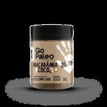Creme Go Paleo Macadamia + Coco (200g) Super Saude