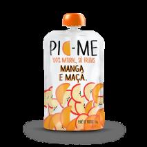 Purê de Frutas (100g) Pic Me-Manga e Maçã - 40% OFF