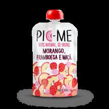 Purê de Frutas (100g) Pic Me-Morango, Framboesa e Maçã