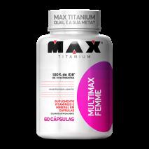 Multimax Femme (60caps) Max Titanium