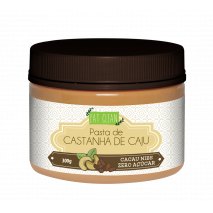Pasta de Castanha de Caju Cacau Nibs (300g) Eat Clean