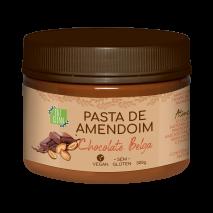 Pasta de Amendoim Chocolate Belga (300g) Eat Clean