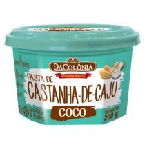 Pasta Castanha Caju com Coco (200g) DaColônia