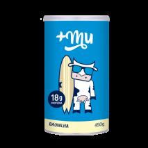 Pote de Whey Protein +Mu Baunilha (450g) +Mu