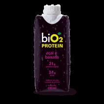 Shake Protein Açaí e Banana (330ml) BiO2 - 40% OFF