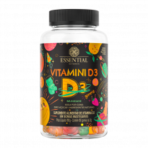 Vitamini D3 (60 gomas-3g) Essential Nutrition - 40% OFF
