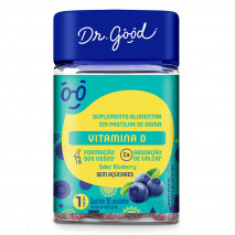 Vitamina D Adulto (30caps) Dr. Good