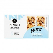 Barra Pinati Nuts Original (2unid-30g) Super Saude