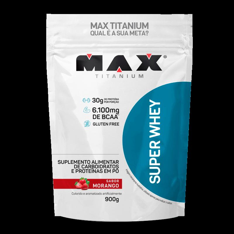 SUPER WHEY (REFIL-900G) MAX TITANIUM